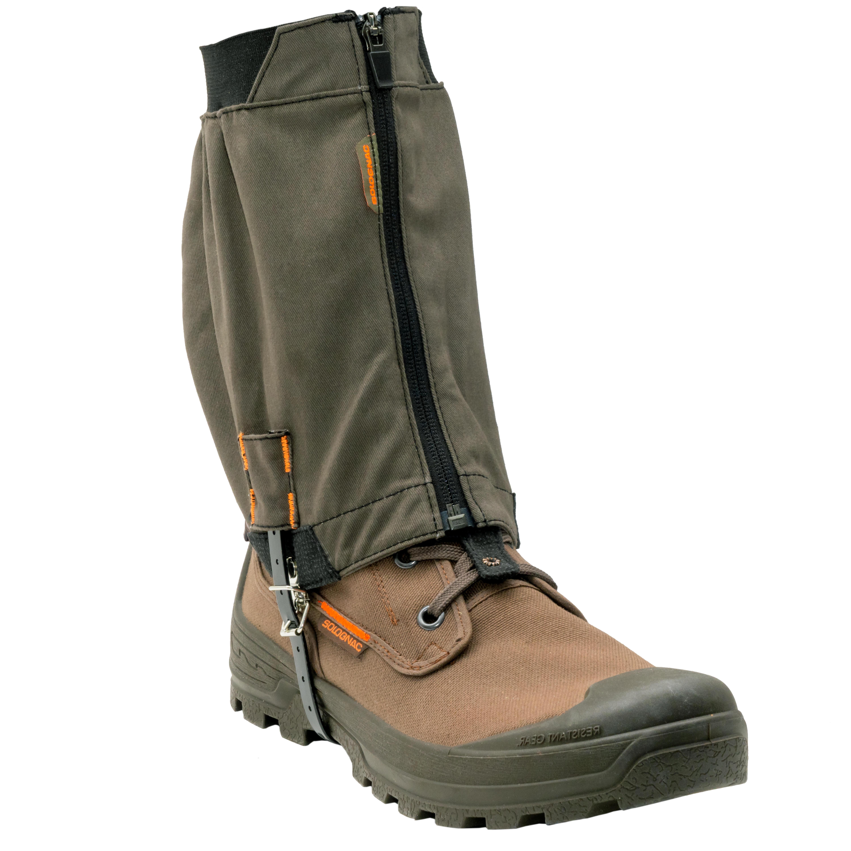 JAGDGAMASCHEN ATMUNGSAKTIV CROSSHUNT 500 BAUMWOLLE | Schuhe > Outdoorschuhe > Gamaschen | Solognac