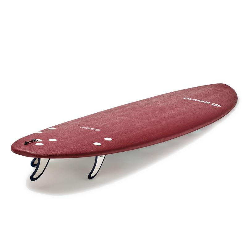 Tabla Surf Espuema 500 7' (1 leash y 3 quillas)