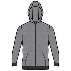 Men's Hoodie 100 - Grey