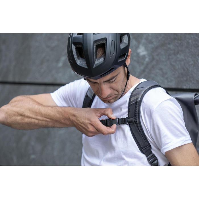 Waterdichte fietsrugzak Elops Speed 500 25 l