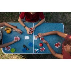 Vouwbare kampeertafel met 4 krukjes voor 4 tot 6 personen