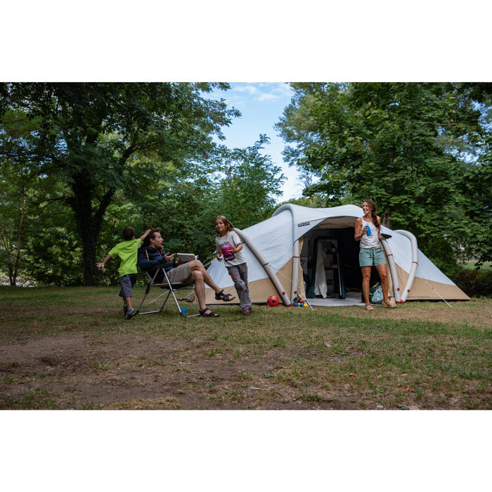 充氣式露營帳篷Air Seconds 4.1 F&B-4人2間寢室