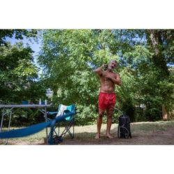 PRESSURE-BALANCED SOLAR SHOWER FOR CAMPING - 10 LITRES
