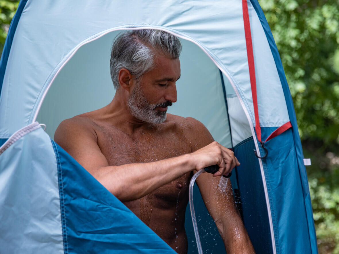 CAMPING SHOWER CUBICLE - 2 SECONDS