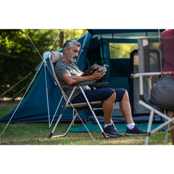 Heel comfortabele vouwbare kampeerstoel Comfort