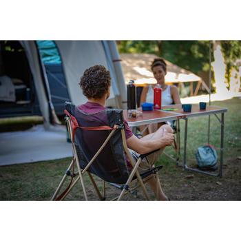 Vouwbare kampeertafel voor 4 tot 6 personen