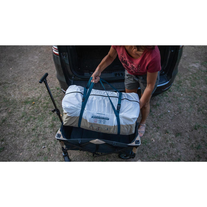 FOLDING TRANSPORT CART FOR CAMPING EQUIPMENT - TROLLEY