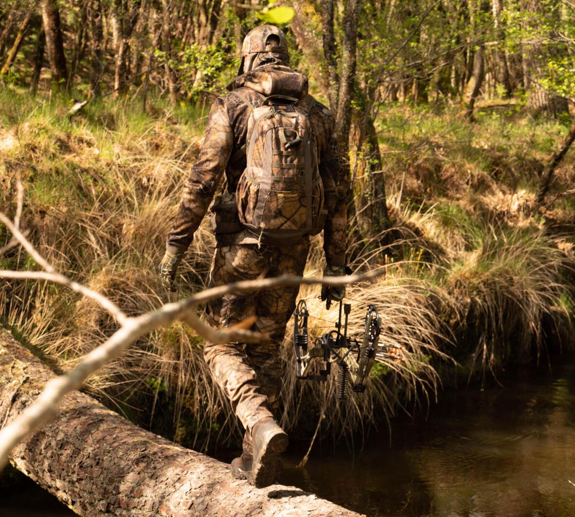 chasseur à l'arc nature