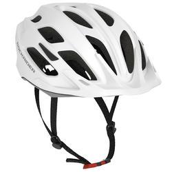 Fahrradhelm MTB ST 500 weiß
