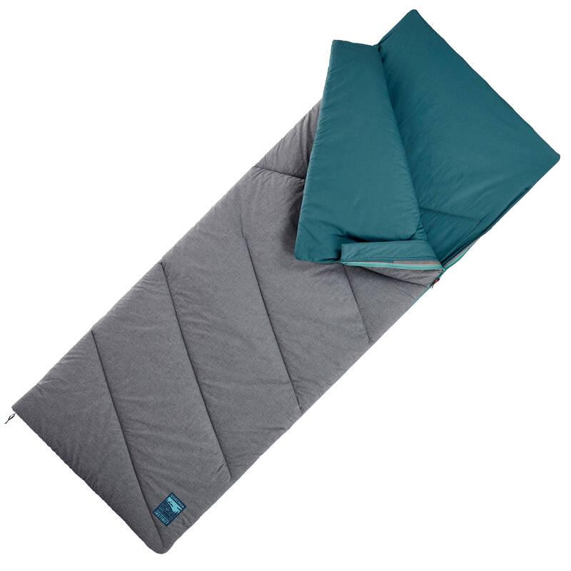 SPACÍ PYTLE NA TURISTIKU Kempování - SPACÍ PYTEL ARPENAZ 10° MODRÝ QUECHUA - Vybavení na spaní