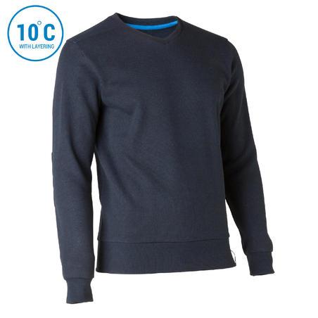 Suéter de Montaña, Quechua, NH150, Hombre, Azul oscuro