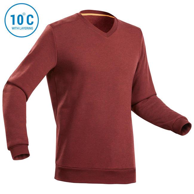Men's Sweater NH150 - Maroon