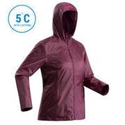 Women's Snow Jacket SH100 (Warm) - Purple