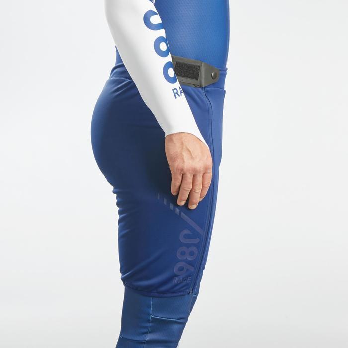 Skishort voor competitie volwassenen 980 blauw
