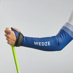 Skipak voor wedstrijdskiën volwassenen 980 blauw
