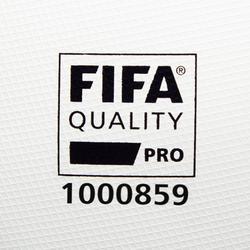 Fußball F900 FIFA Pro thermogeklebt Größe5 weiß/grün/blau