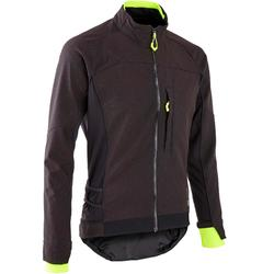 Men's Mountain Biking Jacket ST 500 - Black/Yellow