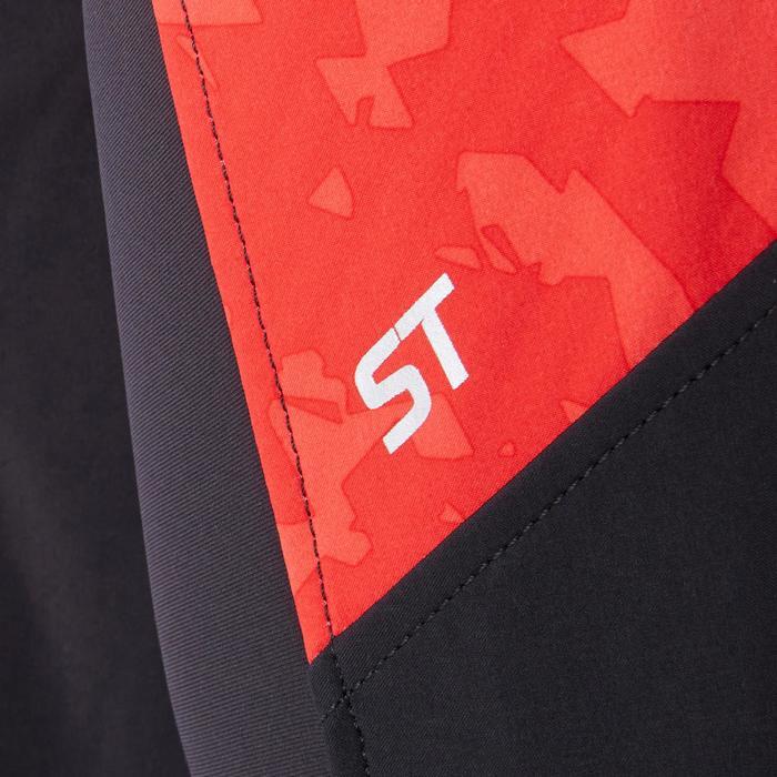 Veste de VTT Randonnée Homme ST 500 rouge noire