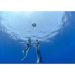 自由潛水蛙鞋FRD500-暴風灰