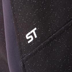 MTB-jack voor heren ST500 zwart/geel