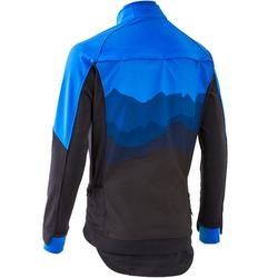 MTB-Fahrradjacke ST 500 Herren blau/schwarz