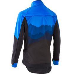 Veste de VTT Randonnée Homme ST 500 bleue noire