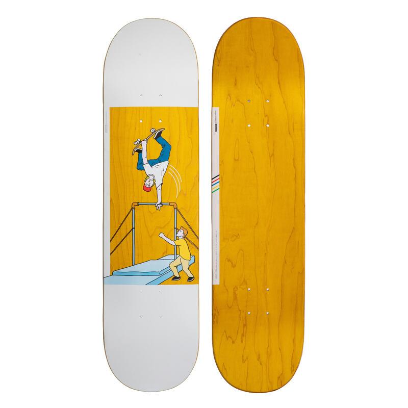 "8"" Skateboard Deck 120 Bruce - Yellow"