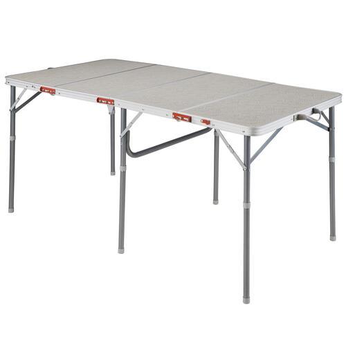 GRANDE TABLE DE CAMPING PLIANTE - 6 À 8 PERSONNES
