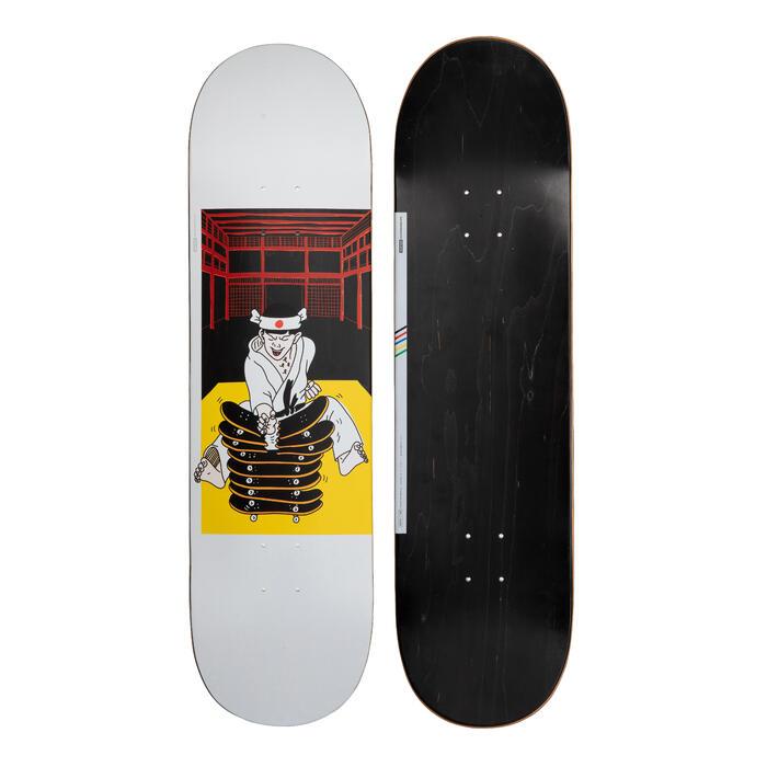 """Skateboard deck 120 Bruce maat 8.75"""" zwart"""