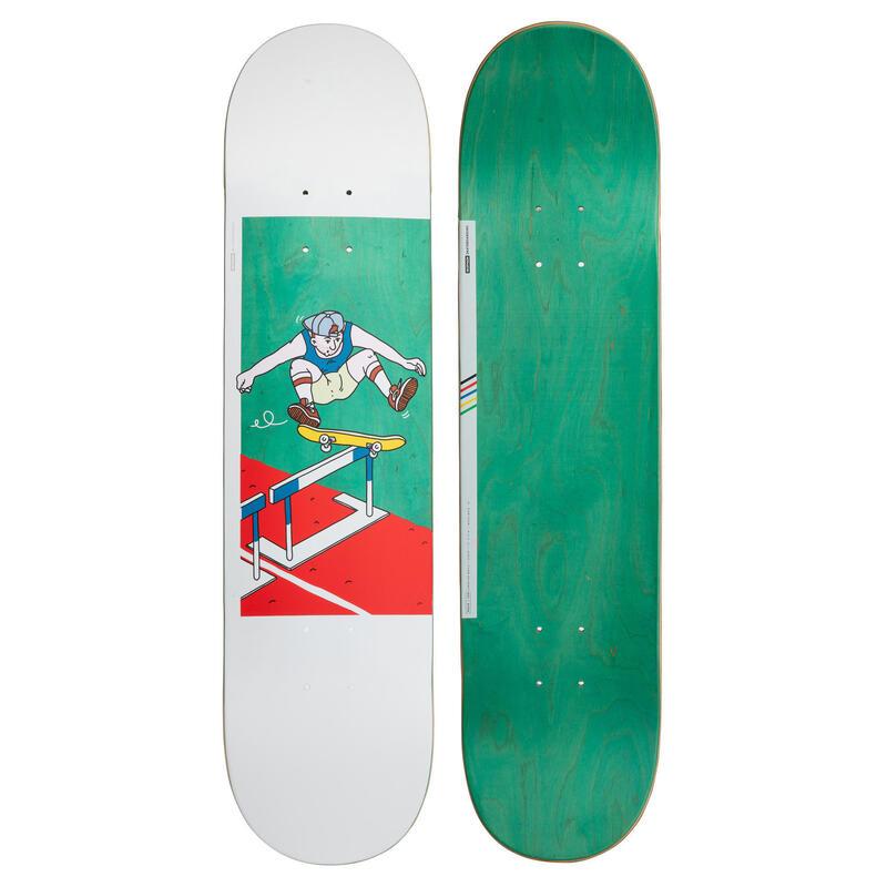 """Skateboard deck 120 Bruce maat 7.75"""" groen"""