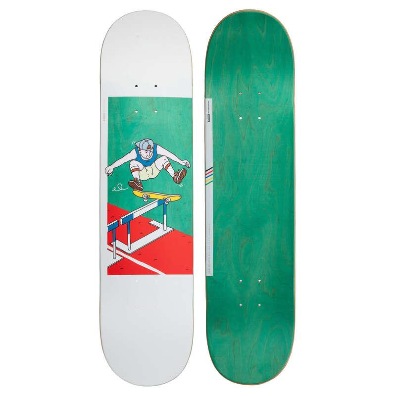 SKATEBOARDS. Inlines, Skateboard - DECK 120 BRUCE 7,75
