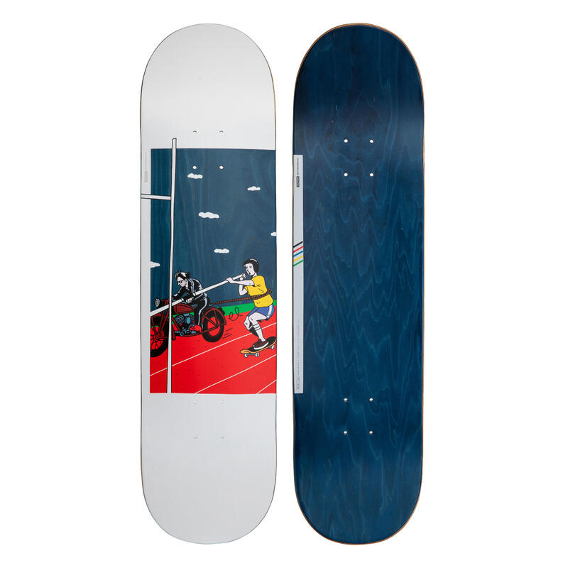 "Deck Skateboard 8,25"" Bruce 120 - Biru"