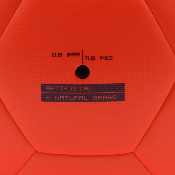 Voetbal F500 hybride maat 5 oranje