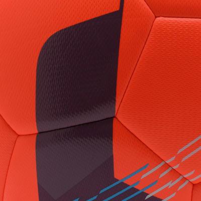 Ballon de football Hybride F500 taille 5 rouge