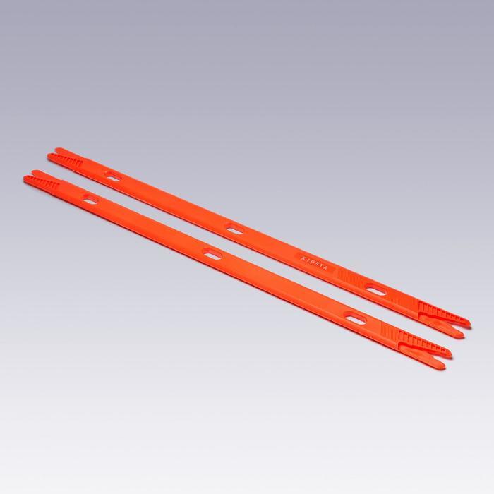 Trainingsstokken Modular 90 cm, set van 2 oranje