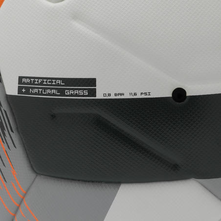 Thermobonded Size 5 Football FIFA Pro F900 - White