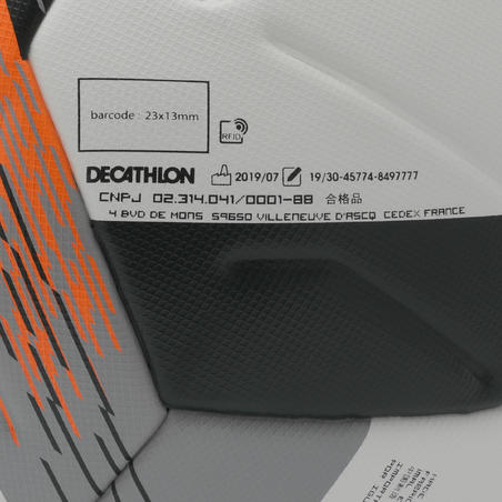 Ballon de soccer thermocolléF900