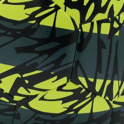 Voetbal F500 light maat 5 geel/groen