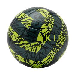 ballon de football F500 light taille 5 jaune vert