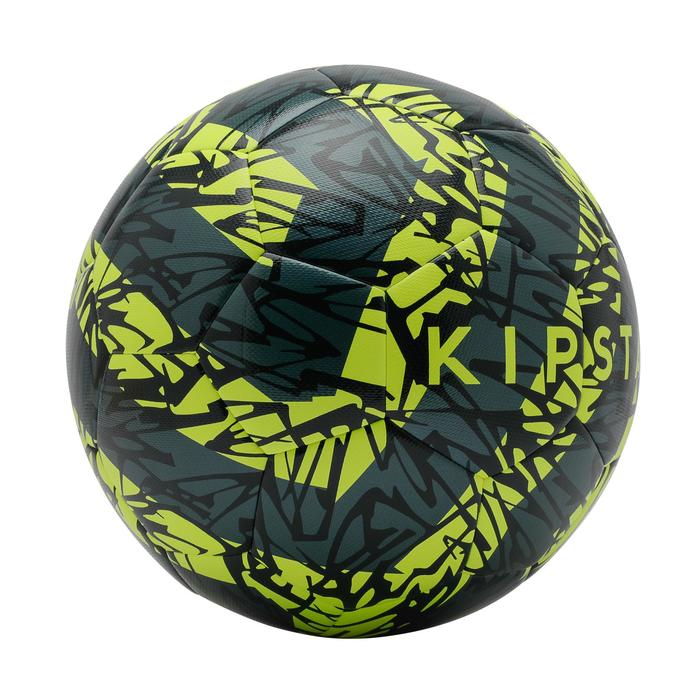 ballon de football F500 light taille 5 jaune vert