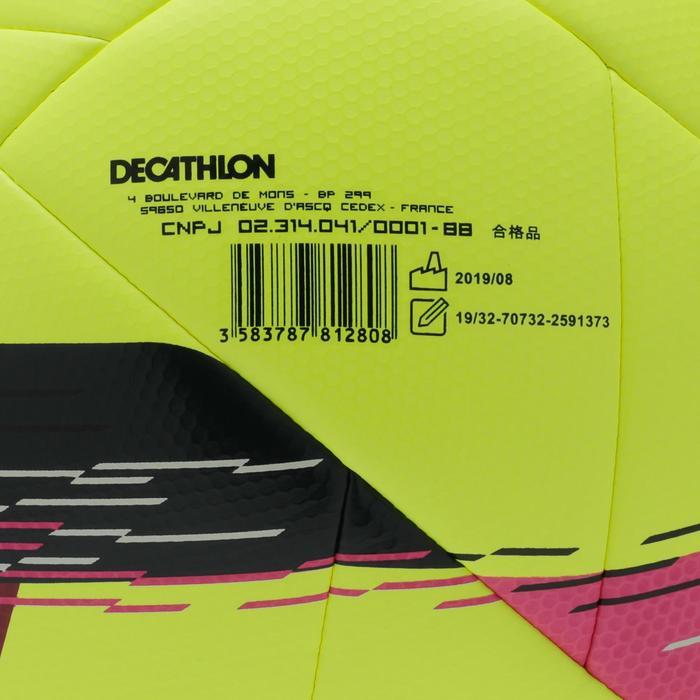 Voetbal F550 hybride maat 4 geel