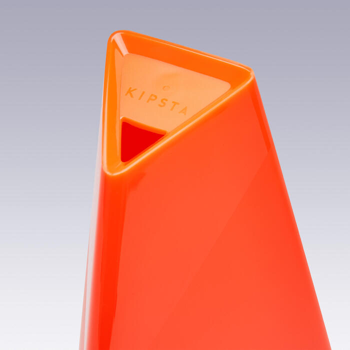 Set van 4 kegels Essential 30 cm oranje