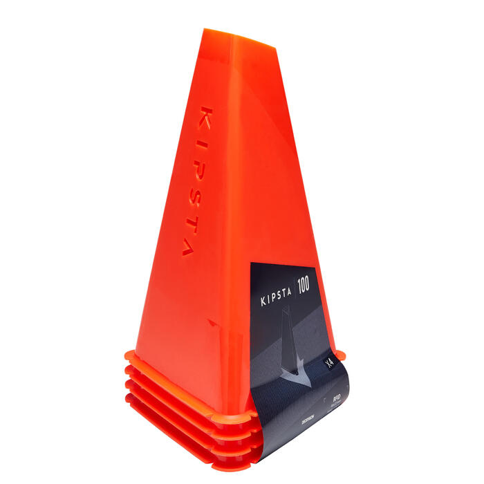 Pionnen Essential 30 cm hoog, set van 4 oranje