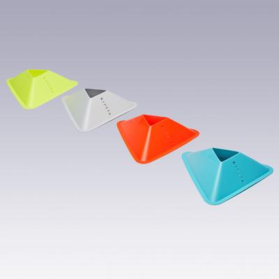 Lot de 40 coupelles Essential 4 couleurs (jaune, orange, gris, bleu)