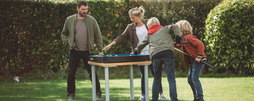 sports pour réunions de famille