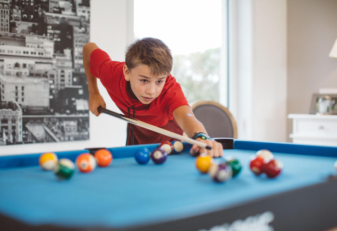 enfants billard amusement