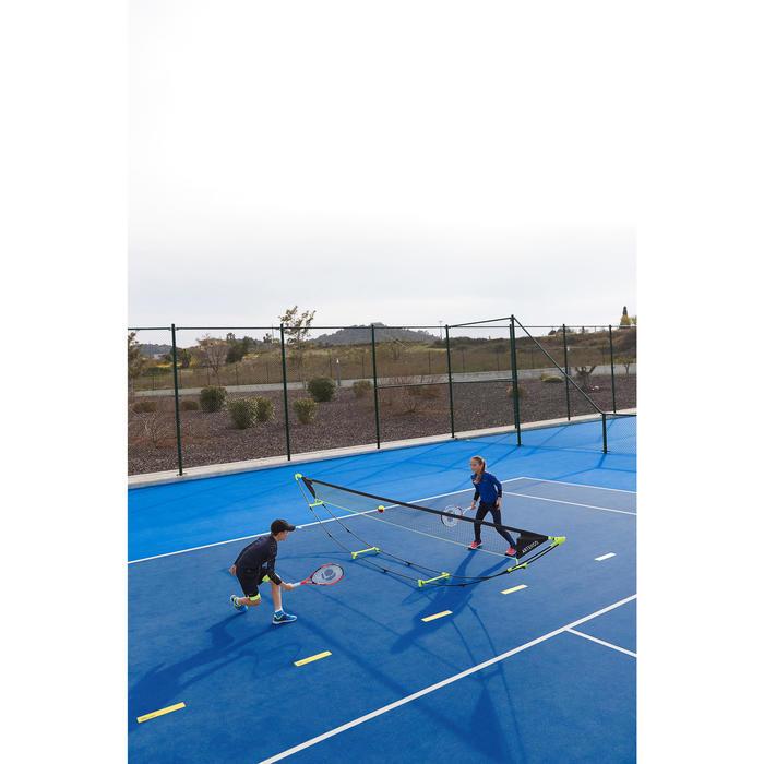 Tennisnet 5 meter Speed hoogteregelbaar en opvouwbaar