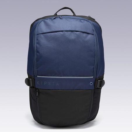 Mochila Kipsta Essentiel 35 litros azul negro