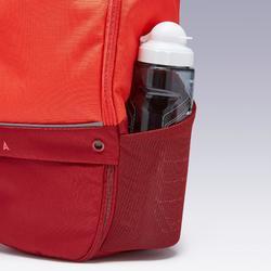 Sac à dos Essentiel 17 litres rouge corail et bordeaux