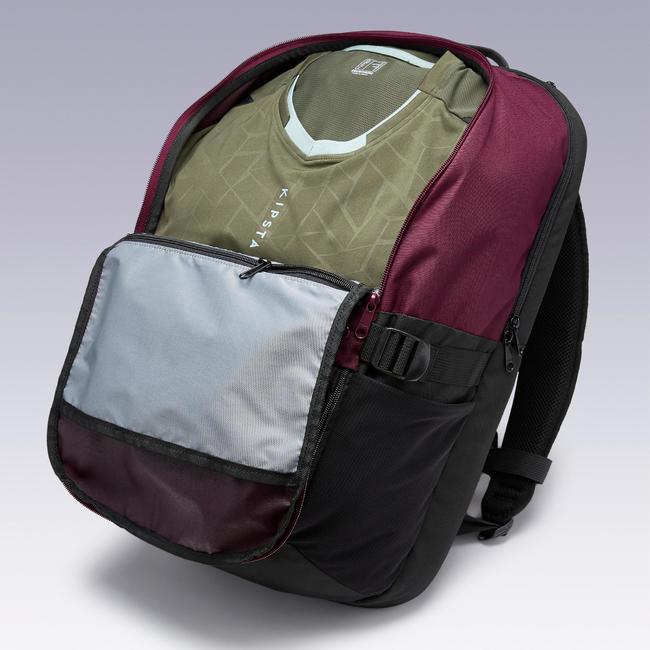 Sports Backpack Essential 35L - Burgundy/Black